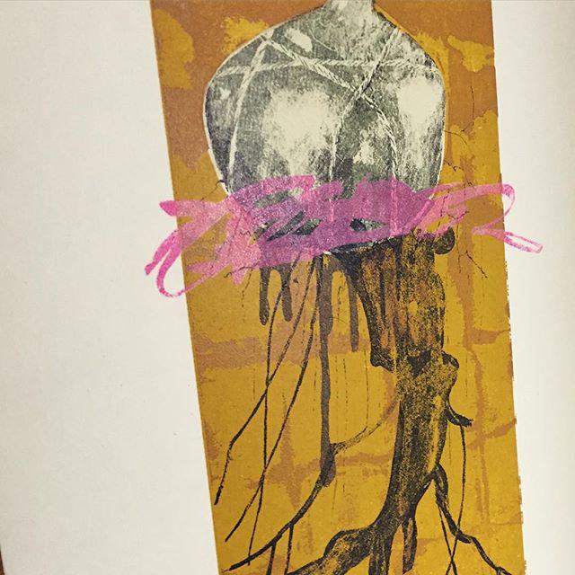 works #printmaking #mimeograph #printmakingart #hanga