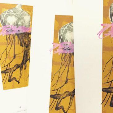 #printmaking #printmakingart #mimeograph #hanga