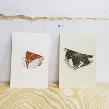 Wagashi #illustration #mimeograph #printmaking #printmakingart