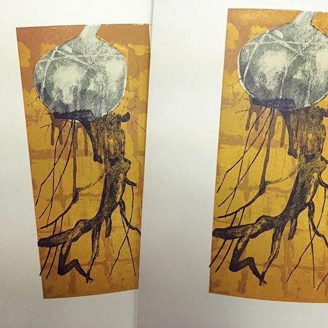 何気に6版目だったりします。#hanga #mimeograph #printmakingart #printmaking