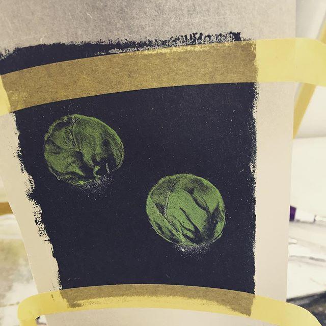 #printmakingart #hanga #mimeograph #printmaking
