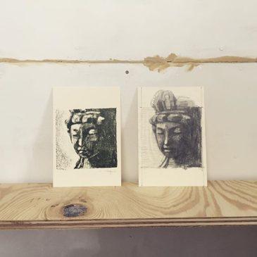 Drawing&Printing #printmakingart #hanga #mimeograph #printmaking