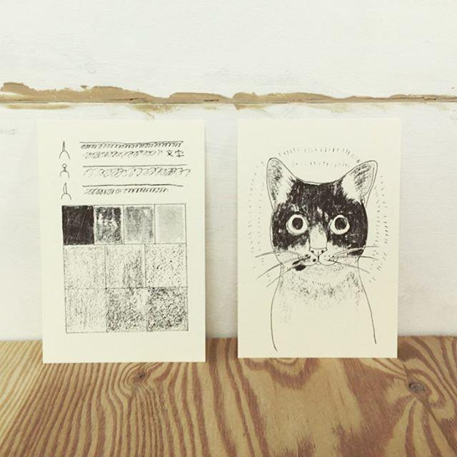 Today's Works #illustration #printmakingart #hanga #mimeograph #printmaking