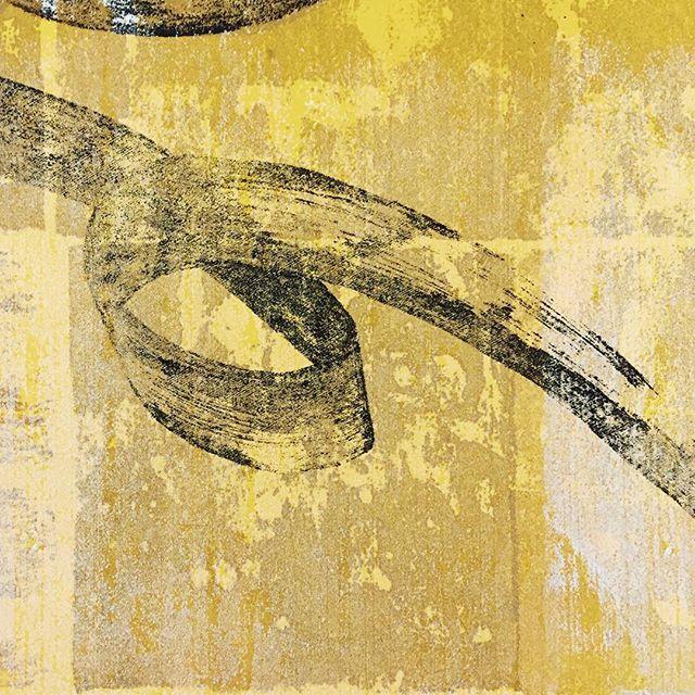 今日の刷り。#ガリ版 #謄写版 #printmaking #mimeograph #面製版 #描圧還元法 #版画