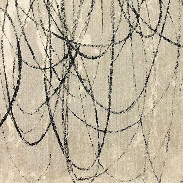 本日の刷り。刷り進みによる絵作りなので手打ちがわからなくなってきております。一応、15版51刷りで了。#printmaking #版画 #mimeograph #謄写版 #ガリ版