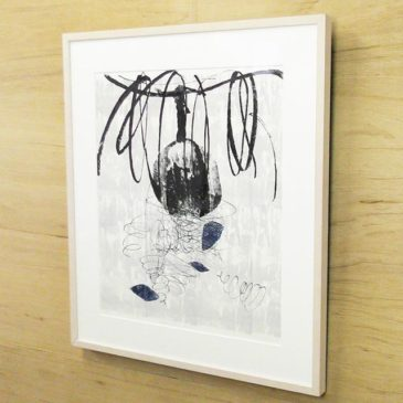 """Start to sale at the Saatchi art! """" Buried pottery pieces"""" 2016, Mimeograph print, Edition of 5, 64×48.5cm u can buy this work by Saatchi art. #tagboat #instaart #seligraphy #fineart #mimeograph #instaprintmaking #artsale #printart #printmaking #instaartsale #saatchiart"""