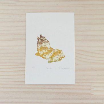 """Ginger"" #mimeograph #print #illustration #instagood #72seasons #printmaking"