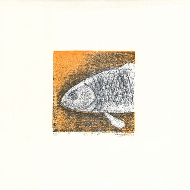 """Start to sale at the TAGBOAT gallery! ・"""" G.D.F"""" 2017, Mimeograph print, Edition of 12, 21x21cm ・u can buy this work by TAGBOAT gallery. ・display. . .at the joint Exhibiition of The Artcomplex Center of Tokyo(Tokyo,Japan) Oct. 24-Nov.5,2017・Everyone of the print collectors in Tokyo, please have a look at the exhibition.・This work was produced and produced by Kanzaki's proprietary technique called """"Digital Mimeograph stencil"""" making from the daily drawing.Daily drawing is chosen from a large number of diary things such as personal things and things for the next work.-----------------タグボートにこちらの作品の販売が開始されました。・10/24よりACTにてこの作品も展示予定です。・本作品は日々のドローイングから謄写版デジタル製版という私の独自技法で製版し制作。日々のドローイングでは日記的に身の回りのものや次回作のためのものなど多数の中から選んでいます。"""