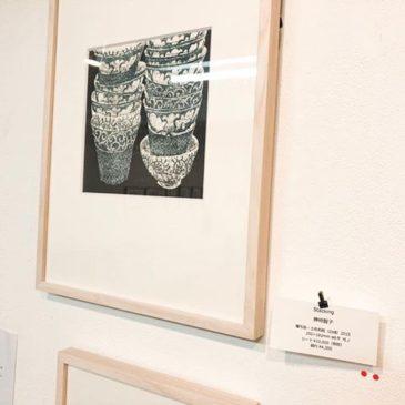 ACTにて展示中の作品「stacking」がラスト1になりました。謄写版の特性上「増刷」が出来ませんので、どうぞよろしくお願いします。