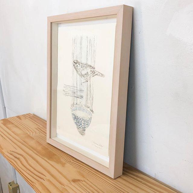 "My print art has been sold!・""Sparrow&Wan"" 2013, ・Mimeograph print, Edition of 14, 29.7x21cm. ・U can see this work byTAGBOAT gallery・or・sattchi art. ・----------ただ今の展示中作品ではありませんが、こちらの作品が売れましたので、嫁入り前の写真撮影です。・まだこちらの作品はエディションはありますので、タグボートもしくは、私までお問い合わせくださいーませ。"