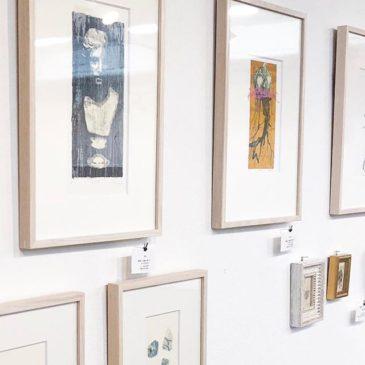 本日より ACT #artcomplexcenteroftokyo にて版画展が始まります。本日の在廊は18:00-予定しています。・いま旬の版画作品を一堂に見られるこの企画展。光栄なことに今年も推薦を頂き、展示をする事となりました。・是非ご覧ください。————display. . .at the joint Exhibiition of The Artcomplex Center of Tokyo (Tokyo,Japan) Sep. 25-Oct.7,2017.・Everyone of the print collectors in Tokyo, please have a look at the exhibition. ・This exhibition, You can look works by 9  printmaking artist of the hour.・The collector recommended me to be present this exhibition.・Thanks.————— #mimeograph #版画 #謄写版 #ガリ版 #printmaking #instaart #artforsale #exhibition