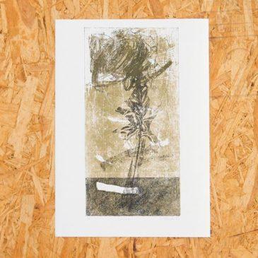 """Layer"" 2018, Mimeograph(File rate process )#mimeograph #版画 #collectionart #謄写版 #ガリ版#printmaking #fileprateprocess"