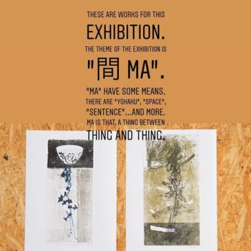"These are works for this exhibition.The theme of the exhibition is ""間 Ma"".""Ma"" have some means.There are ""Yohaku"", ""Space"", ""sentence""…and more.Ma is that, a thing between thing and thing.The title of This work is ""Layer"".In I did making these works, I thought about that between the Ma have mean and Layer by printmaking.#printmaking #mimeograph #版画 #tomokokanzaki #fileprateprocess"