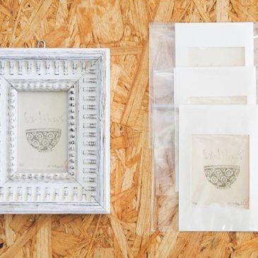 You can look Exlibris works in this exhibition at Higashi Mukoujima cafe shop. I use wax paper to make mimeograph printmaking works. I made these exlibris works start from to making wax paper. —–・東向島珈琲店で開催中の展覧会では蔵書票作品をご覧いただけます。謄写版はロウ原紙を使いますが、わたしはこれらの蔵書票作品はロウ原紙を作るところから始めました。#mimeograph #版画 #printmaking #fileprateprocess
