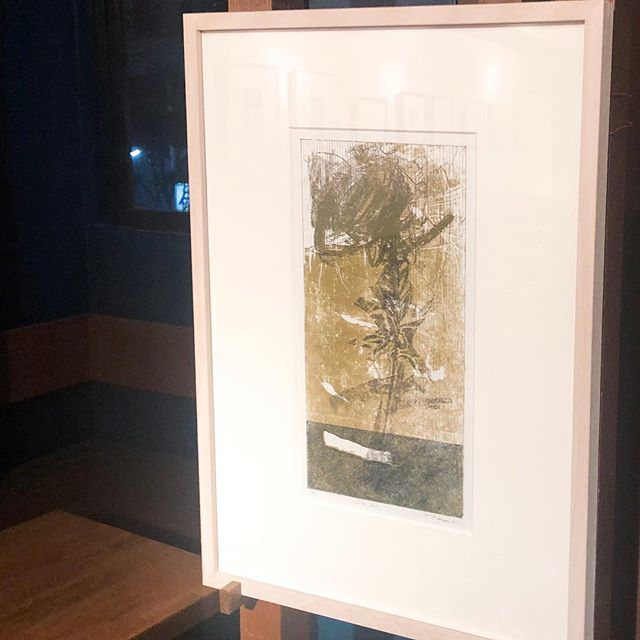 "Completed install to my solo exhibition from tomorrow. You can look to my works at ""William Morris cafe & gallery"" in Shibuya, Japan from Feb.5-28. ・明日からの個展の搬入が完了しました!ウィリアムモリス珈琲&ギャラリーにて2/5-28まで作品をご覧いただけます。http://print.pepper.jp/exhibition201902/"