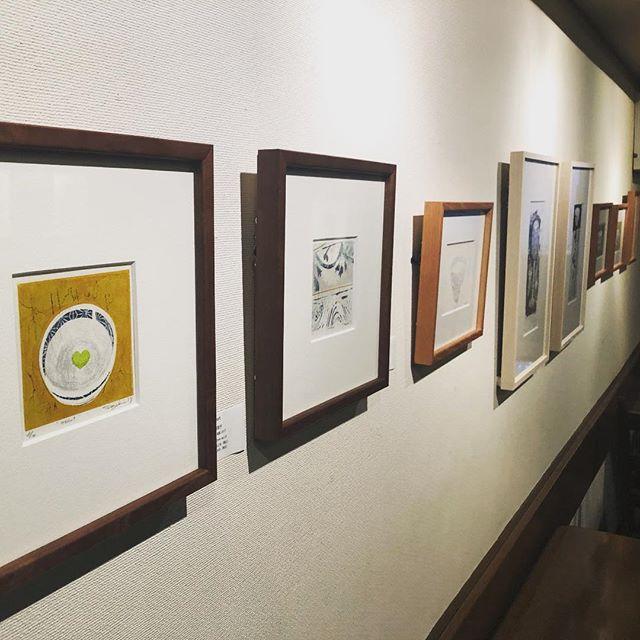 本日も在廊日。土曜日の在廊はラストですよ。14:00頃からおります。http://print.pepper.jp/exhibition201902/