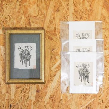 今日は猫の日ですね。ウィリアムモリスギャラリーでの個展にも小さな猫作品置いてます。猫トートバックもありますので、是非連れて帰ってくださいーhttp://print.pepper.jp/exhibition201902/