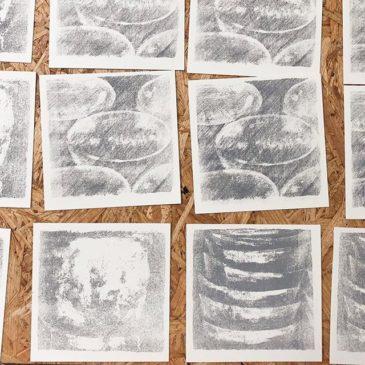 #mimeograph #peopleofprint #printmaking #tomokokanzaki #fileplateprocess #artwork