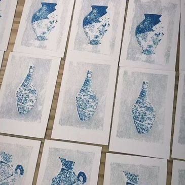 #peopleofprint #mimeograph #tomokokanzaki
