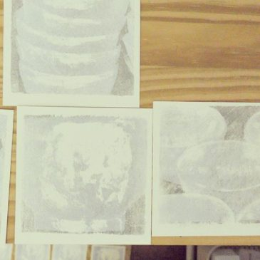 190418#peopleofprint #mimeograph #printmaking #tomokokanzaki #artwork
