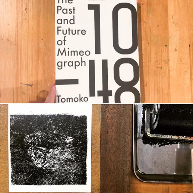 I finally completed the book I was writing last year, and I sent it to the people who supported me.This book has not being sell yet, but we plan to sell it overseas, too.I wrote in Japanese and English.#mimeograph #tomokokanzaki  #peopleofprint #printisnotdead #booklaunch
